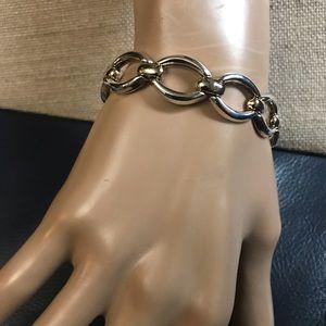 🇮🇹 Italian Silver 925 Link Bracelet - Stamped